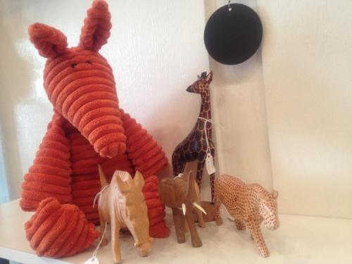 Fair Trade Wooden Animals Handmade in Kenya
