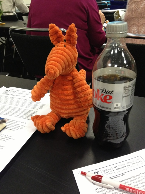 Clive goes to school and takes a class on 50 Shades of Marketing.  Diet Coke is a must have for any student.